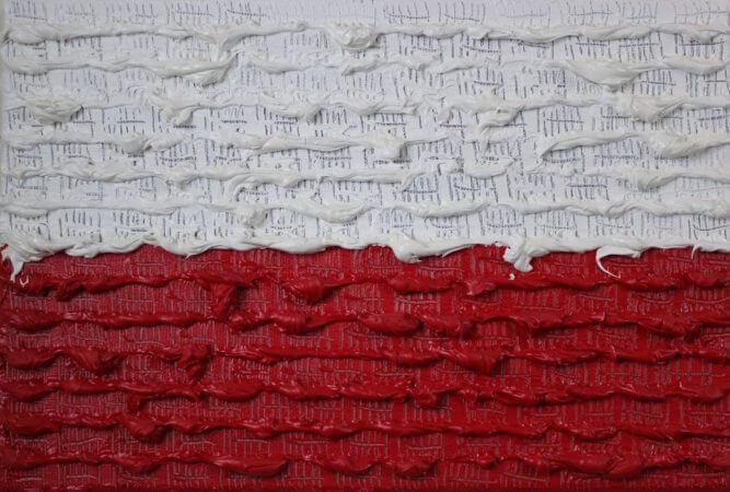 Włodzimierz Pawlak, Polacy formują flagę narodową