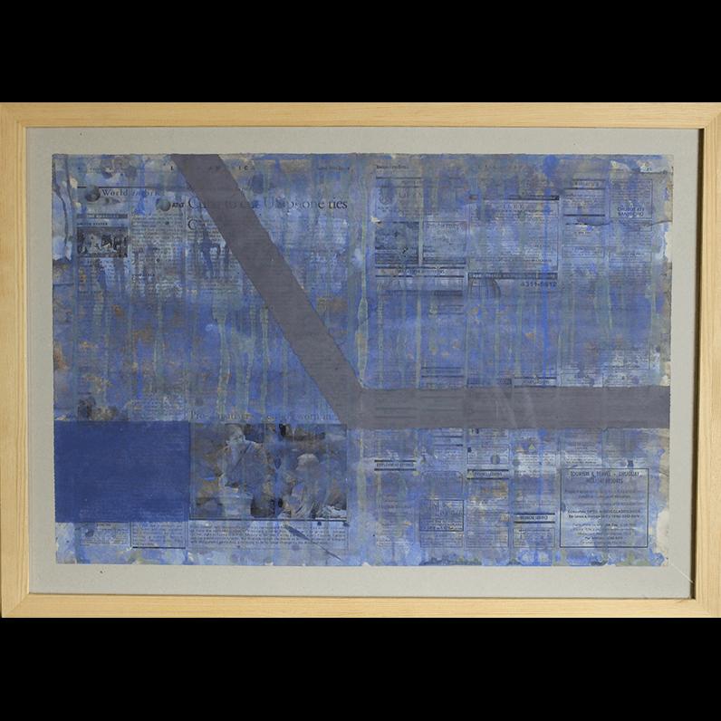 Recycled news 1, Jarosław Kozłowski artiste conceptuel, conceptual artist, концептуальный художник